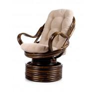 Кресло-качалка с подушкой Давао