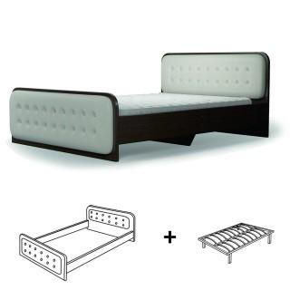 Кровать  Магия  лайт с ламелью 1200х2000