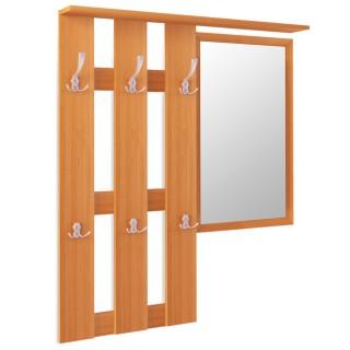 Вешалка навесная с зеркалом Дуэт