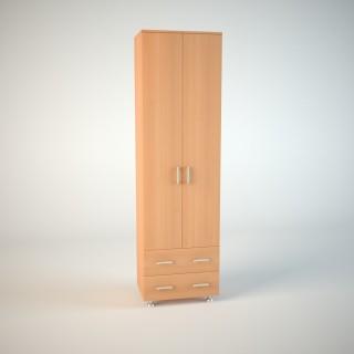 Модульная прихожая Гармония модуль№1(шкаф с ящиками 600)