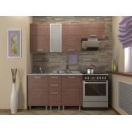 Кухонный гарнитур 1,3 КМ 111 Азалия с шкафом под вытяжку 500