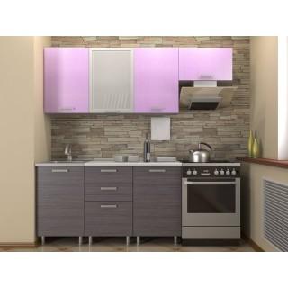 Кухонный гарнитур 1,5 КМ 121 Азалия с шкафом под вытяжку 500