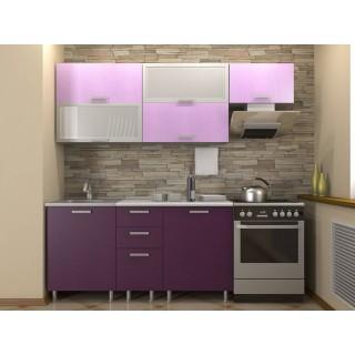 Кухонный гарнитур 1,6 КМ 131 Азалия с шкафом под вытяжку 500