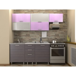 Кухонный гарнитур 1,6 КМ 131 Азалия с шкафом под вытяжку 600