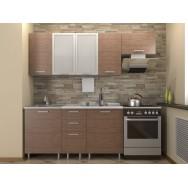 Кухонный гарнитур 1,6 КМ 132 Азалия с шкафом под вытяжку 600