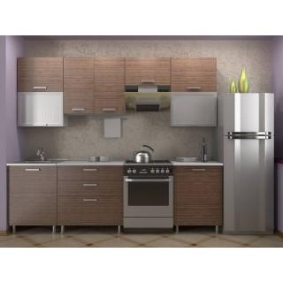 Кухонный гарнитур 2,0 КМ 151 Азалия с шкафом под вытяжку 500