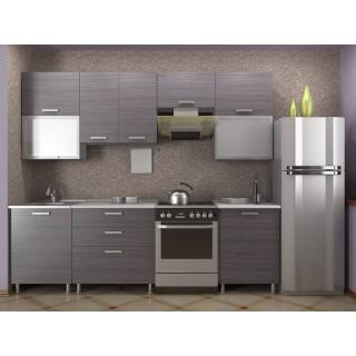 Кухонный гарнитур 2,0 КМ 151 Азалия с шкафом под вытяжку 600